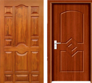 4.Treated (KD) Pyinkado Door & Door Frame