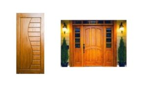 3.Treated (KD) Teak Door & Door Frame